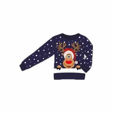 Goedkope kerstmis trui 3d rendier voor volwassenen