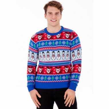 Goedkope kerstmis trui comic christmas voor mannen