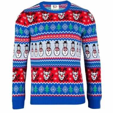 Goedkope kerstmis trui comic christmas voor vrouwen