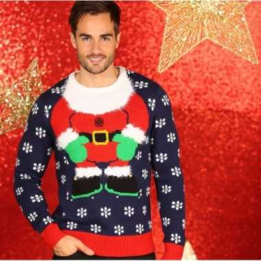 Kersttrui Heren.Goedkope Kerstmis Trui Kerstelf Voor Heren Goedkope Kersttrui Nl
