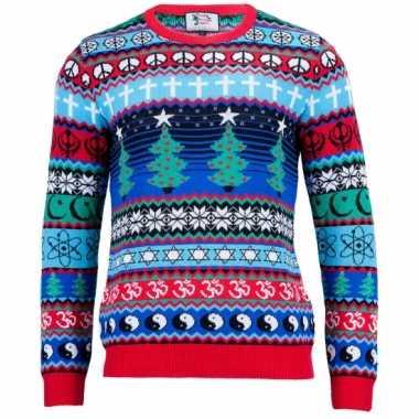 Goedkope kerstmis trui multicultural voor vrouwen