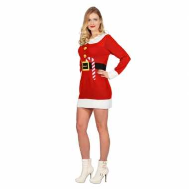 Goedkope rood jurkje voor kerst dames