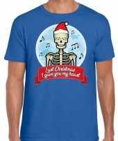 Goedkope blauw fout kerstrui last christmas i gave you my heart voor heren