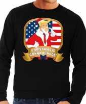 Goedkope foute kersttrui zwart christmas is gonne be huge voor heren