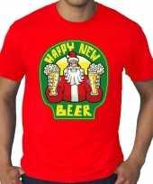 Goedkope grote maten kersttrui trui rodo proostende santa happy new beer voor heren