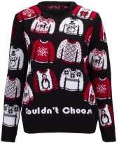 Goedkope kerstmis trui could not choose voor vrouwen