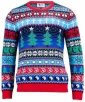 Goedkope kerstmis trui multicultural voor mannen
