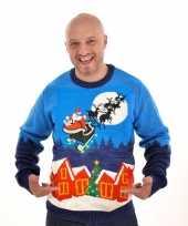 Goedkope kerstmis trui sleigh ride 10095490