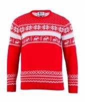 Goedkope kerstmis trui the red nordic voor mannen